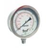 干式耐震滚边压力表PST