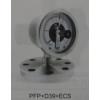 法兰连接式隔膜压力表PFN(PFP)+隔膜+ECS