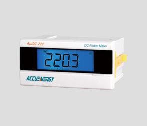 AcuDC 210/220 系列直流电力仪表