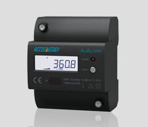 AcuRev 1200导轨安装式单相电能表
