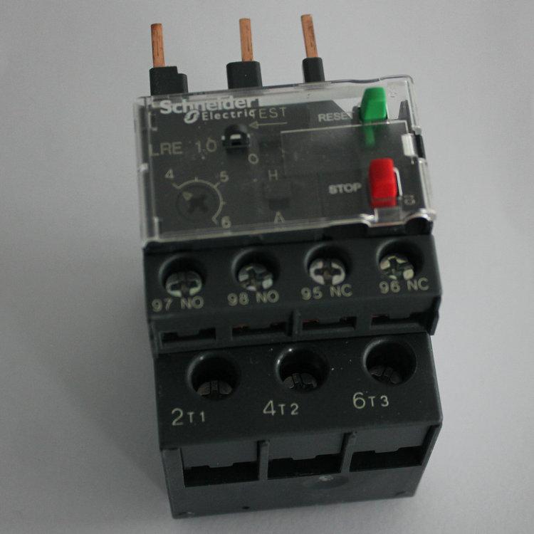 正品施奈德热过载继电器lre08n 整定电流2.5~4a现货