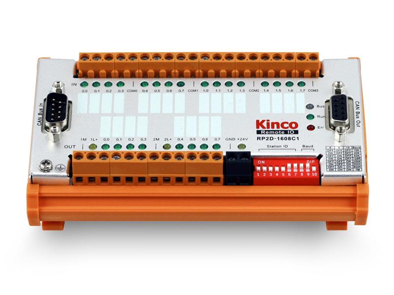 Kinco-RP2D-1608C1 CAN总线远程I/O模块