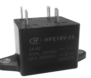 供应直流继电器 HFE18V-20