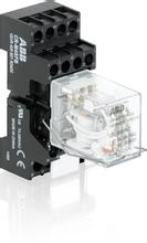 ABB小型继电器CR-MX024DC2L24V