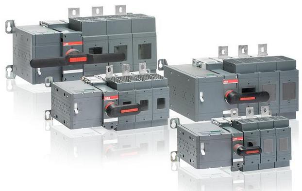 适用于远程控制应用 abb电动隔离开关熔断器组osm