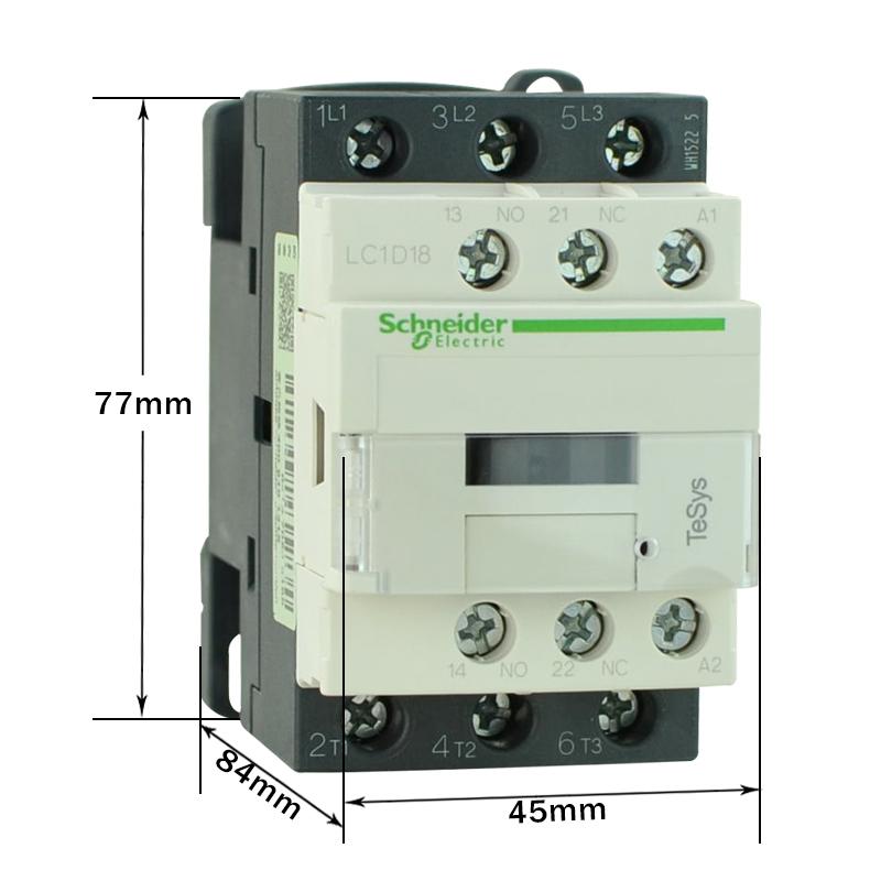 施耐德接触器lc1d18m7c价格,参数