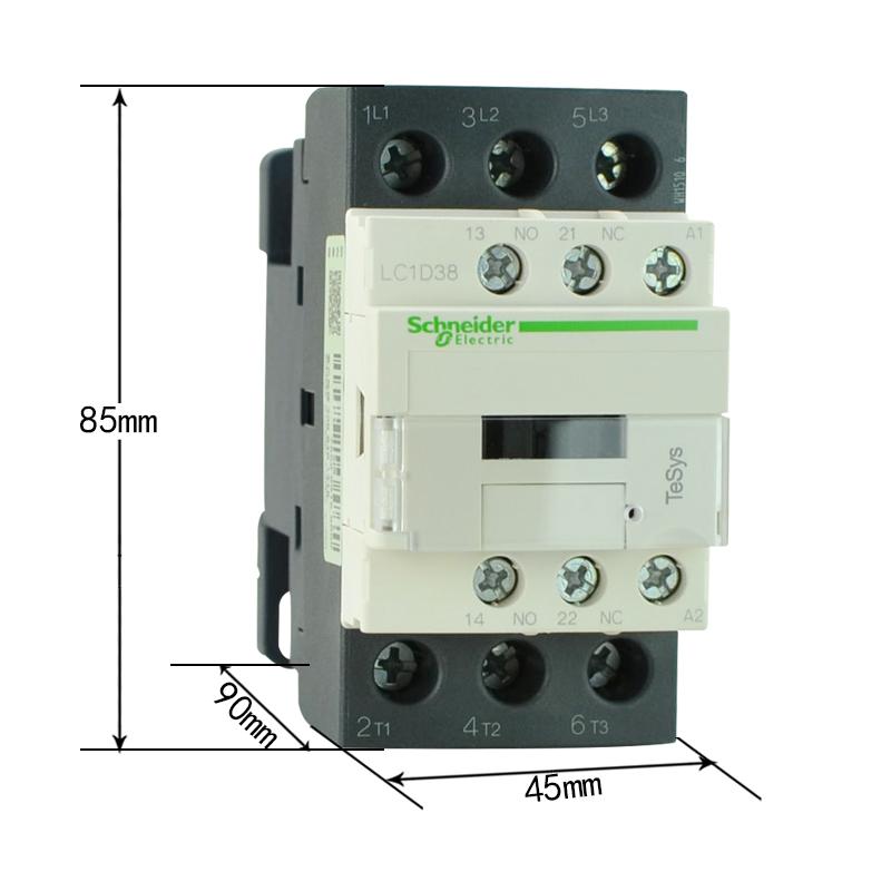 施耐德接触器lc1d38q7c价格,参数