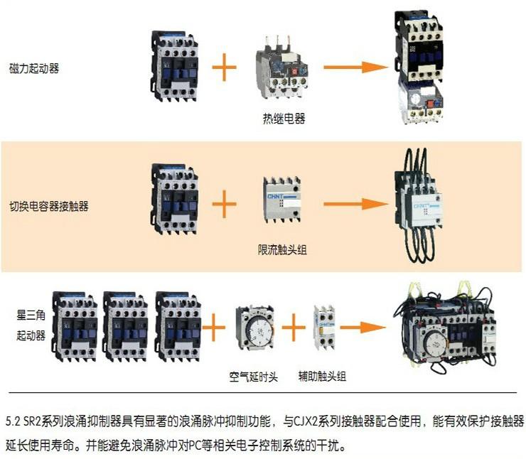 交流接触器 cjx2-1810