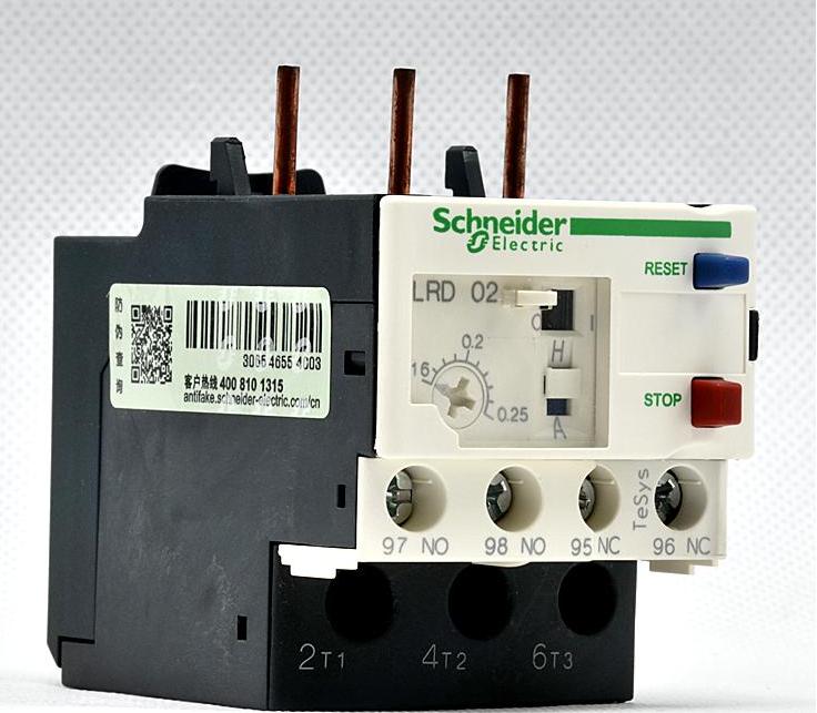 施耐德热继电器lrd03c价格