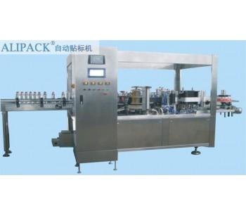 全自动HLML5直线式热熔胶贴标机|福州食品可追溯贴标签机