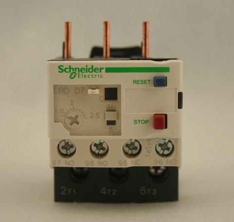 施耐德热继电器lrd14c价格