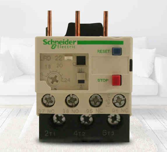 施耐德热继电器lrd32c价格
