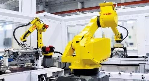 应用于汽车发动机装配的机器人