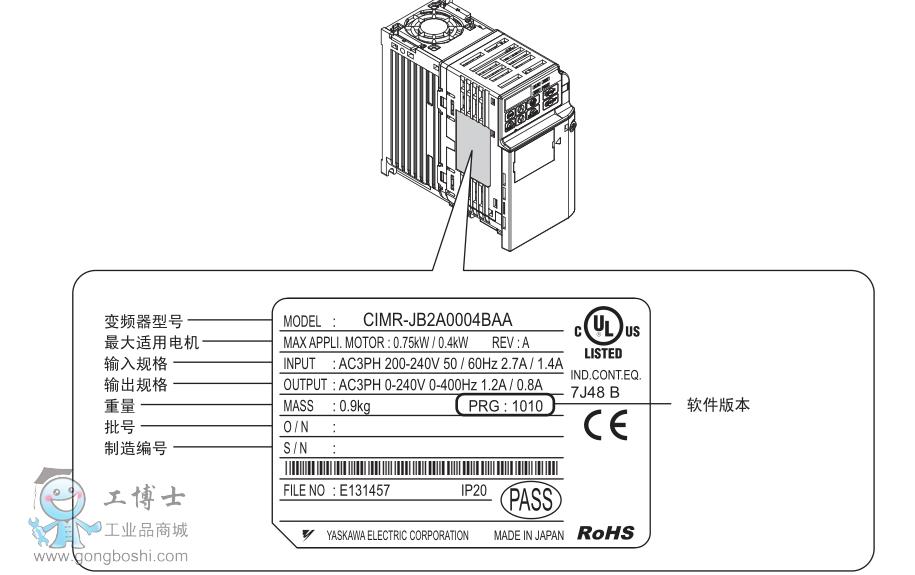 安川g7说明书下载_安川-J1000系列使用说明书|变频器免费下载-工博士资料下载中心