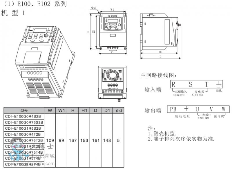 E100图一