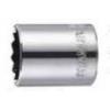 史丹利12.5MM系列公制12角标准套筒