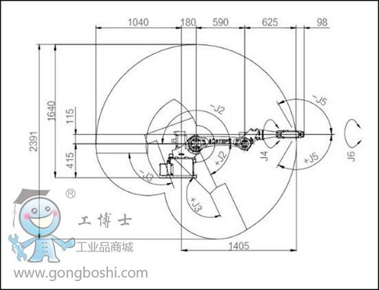 首页 产品库 机器人 工业机器人 弧焊机器人      sa系列机器人外形