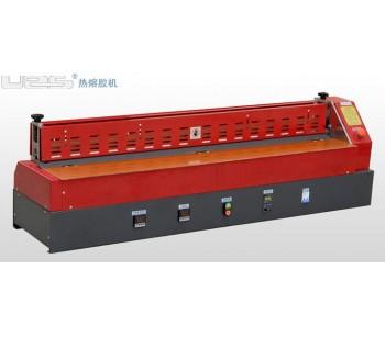 深圳建材热熔胶滚轮过胶机,东莞饰品UES热熔胶机