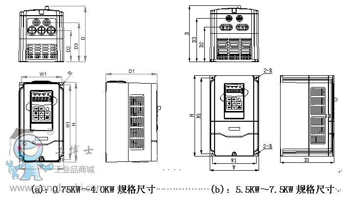 pid仪表变频器恒压供水接线图