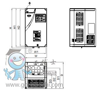 易驱变频器 gt620主轴伺服驱动器