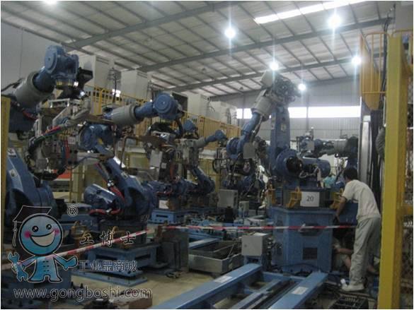 后地板焊接生产线