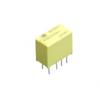 高灵敏度 消耗功率100mW 2c1A窄长型继电器