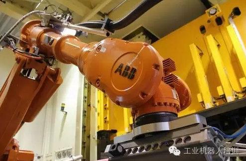 ABB工业机器人常规保养维护