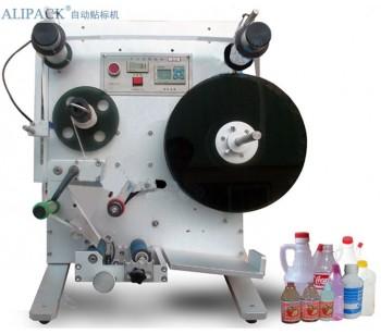 中山西林瓶半自动圆瓶贴标机 ,惠州口服液半自动贴标机