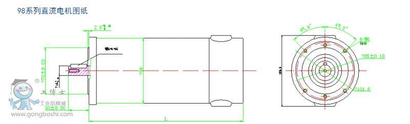 苏强伺服编码器接线图