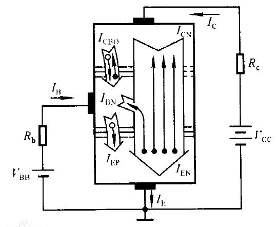 npn型三极管驱动继电器电路图