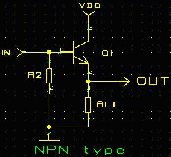 三极管开关电路及管脚分析