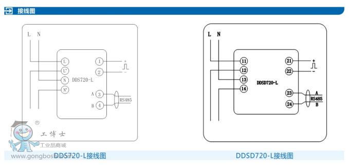 科陆:ddsd720-l导轨式电能表