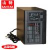 美国山特UPS电源C1KS 1KVA/800W UPS不间断电源长延时需外接蓄电池另外配
