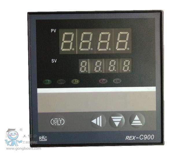 rkc温控器 rex-c900 数字显示控制器 rex-c900fk06-m*en rkc温控表
