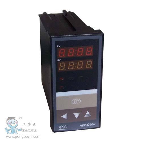 rkc温控器 rex-c400温控表 rex-c400fk02-v*an 电压脉冲输出 单报警