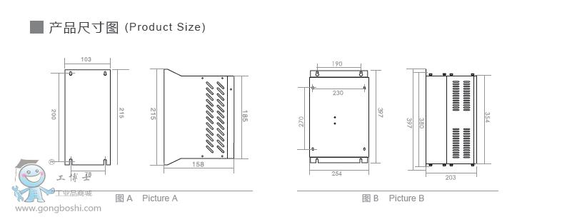 上海鹰峰制动单元 dbu-4220b 220kw 回馈制动单元 大功率变频器使用
