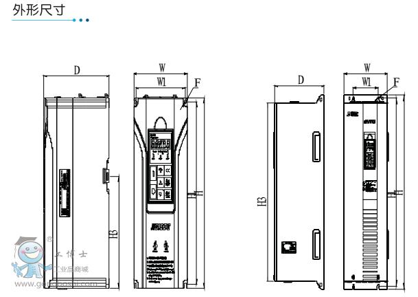 森兰变频器 hg1000-22t4 380v 可开增票