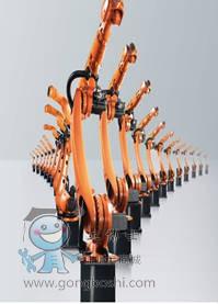 库卡机器人KUKA延长臂机型 KR 16(6轴负载16KG1911mm焊接)