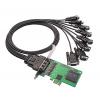 MOXA摩莎 多串口卡 CP-118EL-A 8串口RS-232/422/485