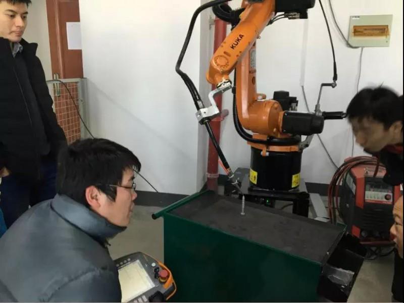 机器人培训实操
