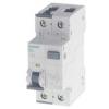 西门子微型断路器 5SU1353-1KK25 5SU系列电磁式剩余电流保护断路器 1P+N 230V