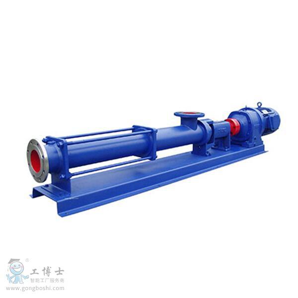 工业污泥螺杆泵,进泥单螺杆泵,污泥输送泵