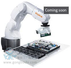 库卡kuka机器人KR3 R540 负载3KG 臂展 540mm *适合3C电子行业装配应用