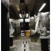 ABB工业机器人喷粉项目,两台实现高效率,ABB机器人喷涂