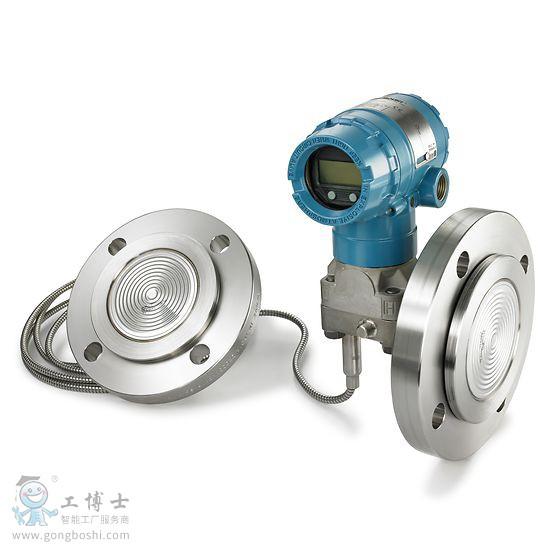 rosemount-2051-level-transmitter-2-diaphragm-seals