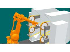 ABB机器人 打磨抛光水槽,高效,智能自动化