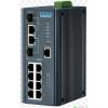 研华EKI-7710E-2CPI工业以太网交换机8百兆电2千兆光网管型