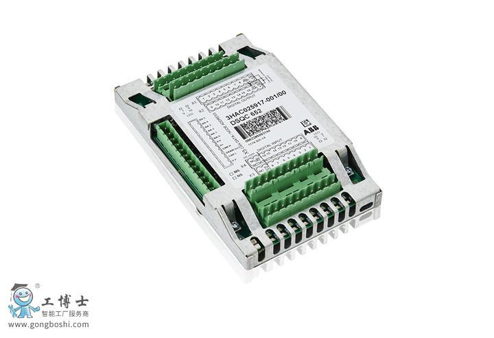ABB机器人配件通讯模块3HAC025917-001 DSQC 652 IO 单元(16进16出)