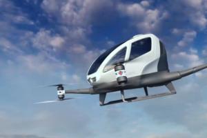 全球首辆飞行出租车迪拜试飞,德国公司最新载人无人机成焦点