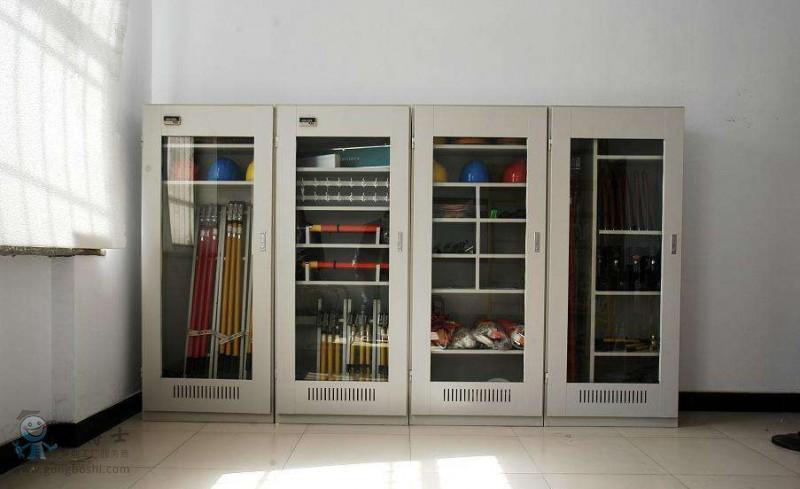 智能安全工具柜led显示屏配电室恒温除湿电力工具柜接地线存放柜